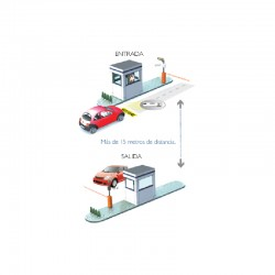 BioTrack Kit de Acceso Vehicular Básico
