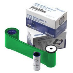 DATACARD - 532000008 - Ribbon - Monocromo - Green- Verde - 1500 Impresiones